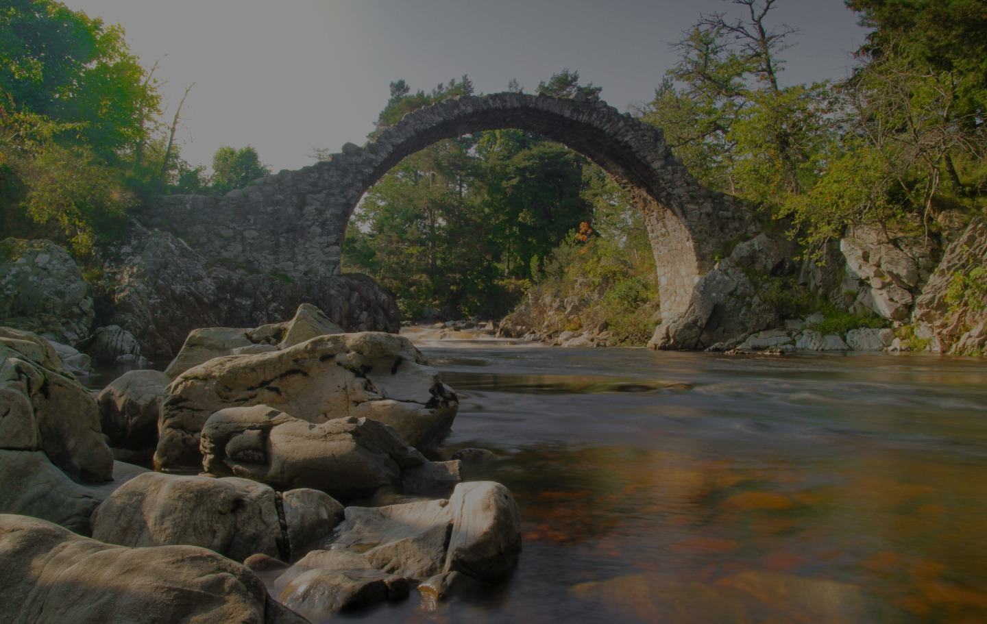 Carrbridge Bridge Background